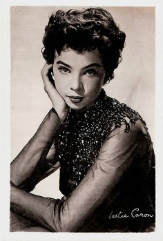Leslie Caron born Leslie Claire Margaret Caron in France. Wonderful film actress and dancer in musical films. Hollywood Stars, Hooray For Hollywood, Golden Age Of Hollywood, Vintage Hollywood, Hollywood Glamour, Classic Hollywood, Classic Actresses, Classic Films, Actors & Actresses