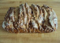 Apple Fritter Bread by Flour Me with Love guest post at The Mandatory Mooch and a Giveaway