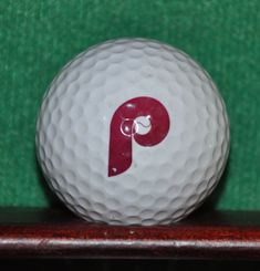 Philadelphia Phillies MLB Baseball Logo Golf Ball