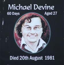Michael Devine INLA Hunger Striker