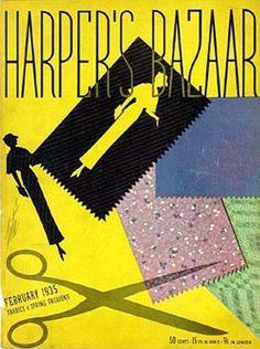 Erté - Illustration - Harper's Bazaar - 1935