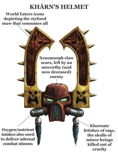 Khârn the Betrayer - Warhammer 40K Wiki - Space Marines, Chaos, planets, and more