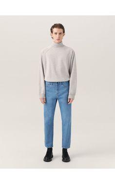 Bluza z golfem ReDesign, Bluzy, jasny szar, RESERVED