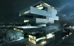 Three Shortlisted for Contemporary Arts Center in Moscow
