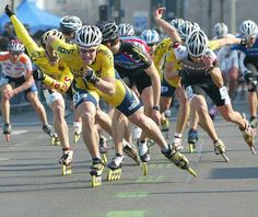 Going so hard for the win. Inline Speed Skates, Sport One, Roller Skating, Mtb, Skiing, Athlete, Concept, Dreams, Running