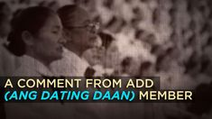 A COMMENT FROM ANG DATING DAAN MEMBER Thank You Pastor, Son Of God, Apollo, Places To Visit, Spirituality, Dating, Fresh, Words, Youtube