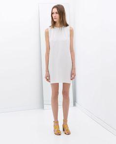 ZARA - LOOKBOOK - SLEEVELESS DRESS