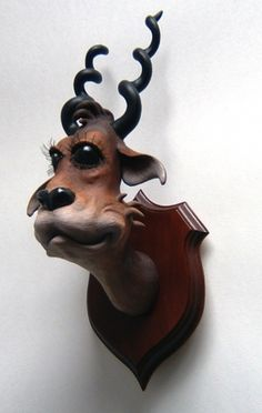 SEUSS INSPIRED SCULPTED TAXIDERMY BY CARL TURNER