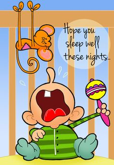 Free Printable 'Sleep Well' Greeting Card