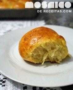Mosaico de Receitas: Pãozinho de Mandioquinha