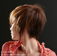 Short Hairstyle Back View | Short Hairstyle Pictures