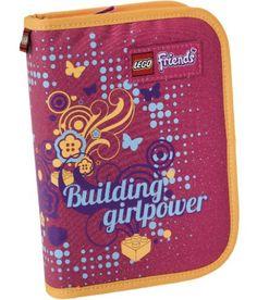 LEGO Federmäppchen Friends All Girls  http://www.meinspielzeug24.de/lego-federmaeppchen-friends-all-girls  #LegoFriends, #Mädchen #Federtaschen/Etuis, #Schule