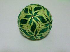 Handmade temari ball  Diameter: 7cm / 2.76