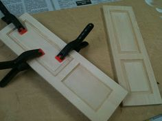 How to: Miniature Architecture of Tiny Distinction: Door Tutorial and a Small Bit of Progress on the Swedish House.