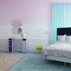 Bedroom nightstand and makeup table. #montanafurniture #danishdesign #bedroomdecor #bedroominspiration #bedroominterior #homedecor #interiordesign