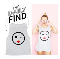 """The Daily Find: Emi Jay Tank"" by polyvore-editorial ❤ liked on Polyvore featuring DailyFind"