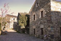 Typical Spanish village Camino de Santiago de Compostela!