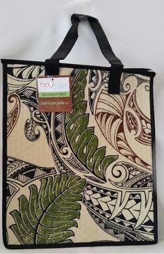 Polynesian Designs -  Large *NEW*  Uma Cream Reusable Bag, $8.00 (http://www.polynesiandesigns.com/large-new-uma-cream-reusable-bag/)