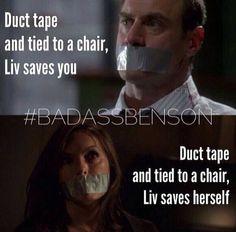 Law & Order: SVU: Bad Ass Benson