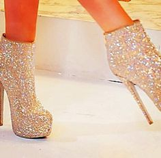 #love these #sparkly #boots :)