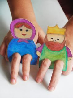 Cardboard Finger Puppets I can see the kids playing doop dop.-Cardboard Finger Puppets I can see the kids playing doop dop with this! Cardboard Finger Puppets I can see the kids playing doop dop with this! Craft Activities, Preschool Crafts, Toddler Activities, Fun Crafts, Diy And Crafts, Arts And Crafts, Paper Crafts, Projects For Kids, Diy For Kids
