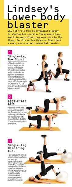 Lindsey Vonn Exercises