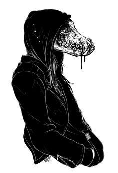1000+ ideas about Wolf Skull on Pinterest | Raven, Raven Art and ...