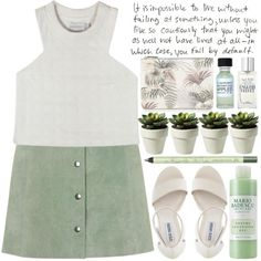 Sweeter Than Fiction by heartart on Polyvore featuring polyvore fashion style Shakuhachi Topshop Steve Madden Warehouse Pixi Jack Wills Mario Badescu Skin Care