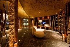 Chalet Zermatt Peak is a luxury 6 star catered boutique chalet in Switzerland. Chalet Zermatt Peak is a an idyllic mountain luxury resort with uninterrupte Chalet Zermatt, Ski Chalet, Indoor Outdoor, Palace, Switzerland Hotels, Chalet Style, Wall Cladding, Swiss Alps, Winter House