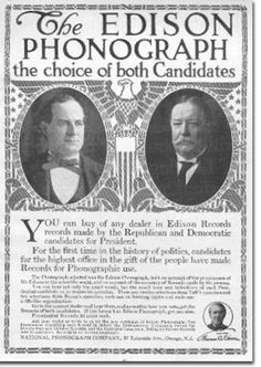 Edison Phonograph advertising used this surprising means of endorsement in Radios, Vintage Advertisements, Vintage Ads, Newspaper Format, Edison Phonograph, Vintage Television, Tape Recorder, Print Advertising, Old Ads