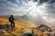 Amazing luck to get on time when the earth and sky merge. Mt Vranica