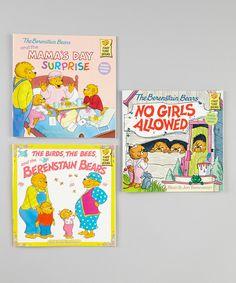 Look at this #zulilyfind! Berenstain Bears No Girls Allowed Paperback Set by The Berenstain Bears #zulilyfinds