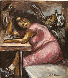 oil and gouache on heavy paper 15 by 12 in. by 33 cm Executed circa 1925 Diego Rivera, Lawrence Lee, Clemente Orozco, Mexican Art, Gouache, The Magicians, Art Forms, Impressionist, Les Oeuvres