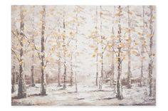 Birch Tree Forest Canvas Next
