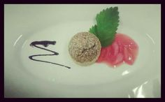 #dessert #dinner #rhabarber