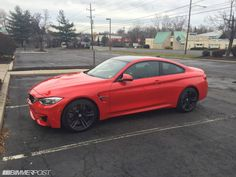 BMW INDIVIDUAL - HELLROT / BRIGHT RED M4 Coupe