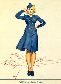 Air Force Pin Up (halloween?)