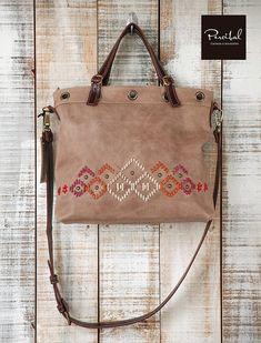 Embroidered bags for woman, medium crossbody bags, Handbags for her, convertible leather bag, Beige Leather Bags Handmade, Handmade Bags, Leather Purses, Leather Handbags, Leather Crossbody, Leather Embroidery, Diy Bags Purses, Medium Crossbody Bags, Boho Bags