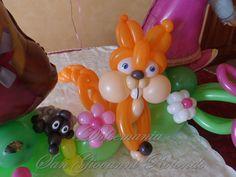 #dolcemania #palloncini #scoiattolo #balloonart #gargano #puglia #idea #riccio #masha #sangiovannirotondo
