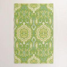 Green Bungalow Ikat Rio Indoor-Outdoor Mat