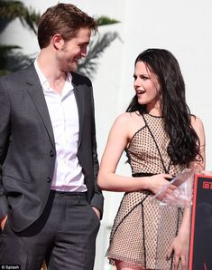 Robert Pattinson and Kristen Stewart; when they seemed happy, it was great, when they didn't...not so much