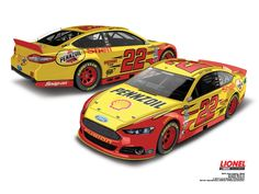 Joey Logano Car | 2014 Joey Logano #22 Shell-Pennzoil 1:24 Diecast Car