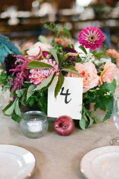 Fall centerpiece: http://www.stylemepretty.com/rhode-island-weddings/bristol/2014/12/19/mount-hope-farm-wedding-2/   Photography: Ruth Eileen - http://rutheileenphotography.com/