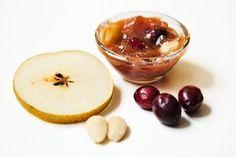 pear-cranberry-almond marmalade