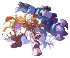 Tretista Kelverian - Characters & Art - Mega Man Zero 3