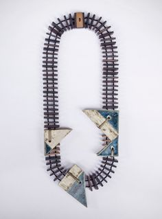 Bali-based Vulantri has launched their latest collection of jewelry, entitled 'let the hidden appear', which features a series of unique, bold necklaces. Not for the faint of heart, these pieces are made of hand painted ceramic components combined into daring sculptural statements.