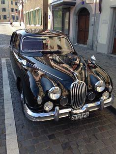 1957 Jaguar Mark found in Zürich on Saturday before rugby :), LG JJ Retro Cars, Vintage Cars, Antique Cars, Jaguar Daimler, Jaguar S Type, Rugby, Sri Lanka, British Sports Cars, Cars Uk
