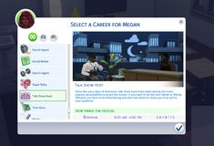 "sohighsims: "" Talk Show Host Career My new 10 level career. Will start off kind of difficult at first but TRUST ME it's worth it. lol Please do not upload and claim as your own Download HERE """