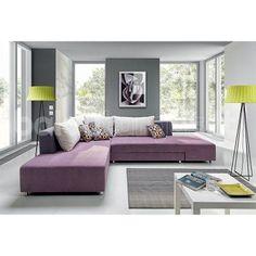 couchgarnitur lisbona xl sofa mit schlaffunktion couch polsterecke ... - Couchgarnituren Fur Kleine Wohnzimmer