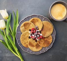 Mákos pali Pancakes, Breakfast, Food, Morning Coffee, Eten, Meals, Pancake, Morning Breakfast, Crepes